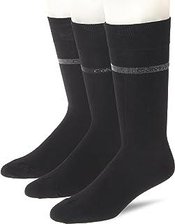 Calvin Klein Men's Bamboo Logo Crew Socks (3 Pair Multipack)
