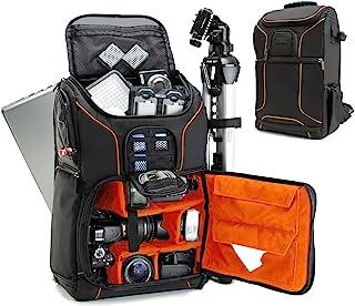 Pinyu Multi-Functional Camera Backpack Video Digital DSLR Bag Waterproof Outdoor Camera Bag Case for Nikon for Canon Color : Red