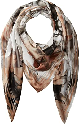 April Showers Oversize Square Scarf