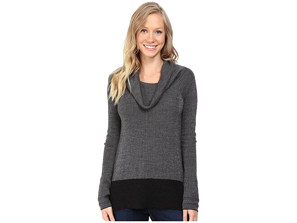 Toad&Co Uptown Sweater (Black Heather) Women