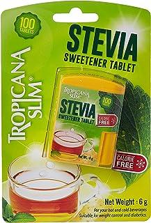 Tropicana Slim Calorie Free Stevia Sweetener, 100 Tablets