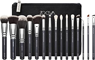 ZOEVA Complete Makeup Brush Set - Includes 15 Face and Eye Makeup Brushes