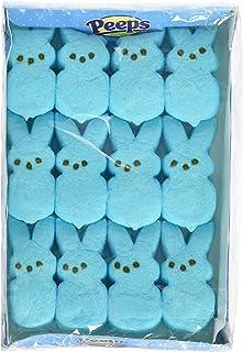 Marshmallow Peeps Blue Easter Bunnies 12ct.
