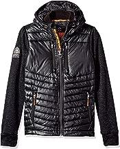 Superdry Men's Storm Softshell Hybrid Zip Hooded Jacket