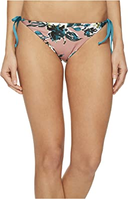 Splendid - Watercolor Floral Reversible Tie Side Bikini Bottom