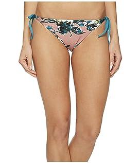 Watercolor Floral Reversible Tie Side Bikini Bottom
