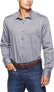 Van Heusen Men's Classic Relaxed Fit Shirt Herringbone