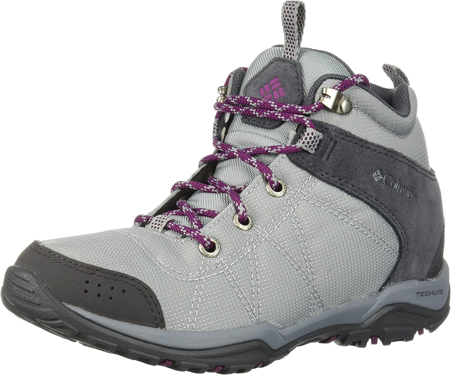 Columbia Womens Women's Fire Venture Mid Textile Hiking Boot
