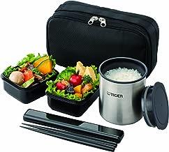 タイガー 魔法瓶 保温 弁当箱 ステンレス ランチ ジャー 茶碗 約 1.2 杯分 ブラック LWY-R024-K Tiger