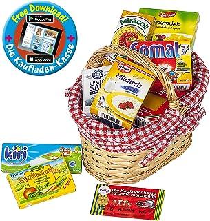 Monland Spielzeug Lagerung Gesponnener blage Korb Dekorativer Rechteckiger Korb des Kindergartens Leeres Geschenk blager Korb Regal Weiden Korb