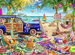 Buffalo Games - Aimee Stewart - Beach Vacation - 1000 Piece Jigsaw Puzzle