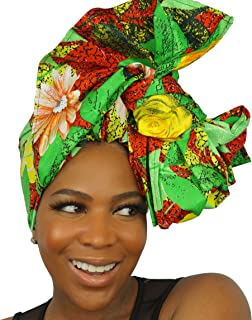 African Print Headwraps & Turbans | Wax Cotton Head Wraps
