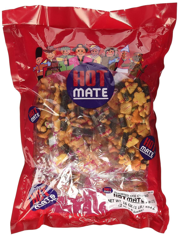 Shirakiku - Hot Mate Assorted Oz. Rice 16 Crackers Atlanta Mall New York Mall
