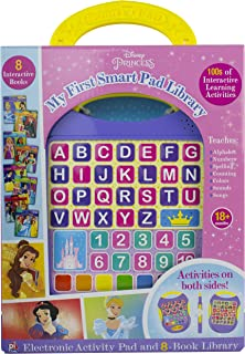 Disney Princess - My First Smart Pad Electronic Activity Pad and 8-Book Library - PI Kids
