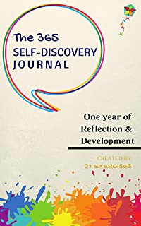 The 365 Self-Discovery Journal: A Guided Daily Journal To Master Self-Improvement (Writing Journals To Write In For Women and Men) (English Edition)