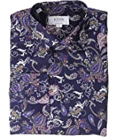 Eton - Contemporary Fit Paisley Print Shirt