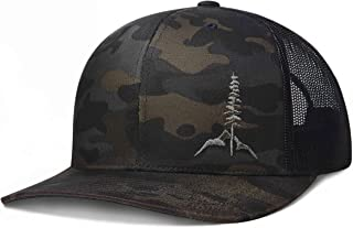 LARIX GEAR Trucker Hat, Tamarack Mountain