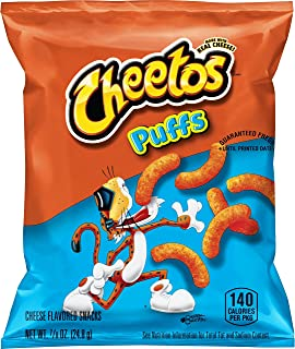cheetos puffs flavors