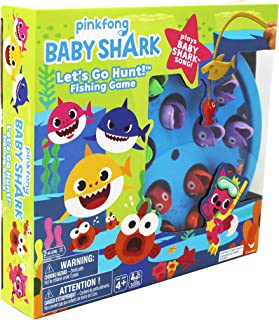 Spin Master: Pinkfong Baby Shark - Lets Go Hunt! Fishing Game & Song (6054916)