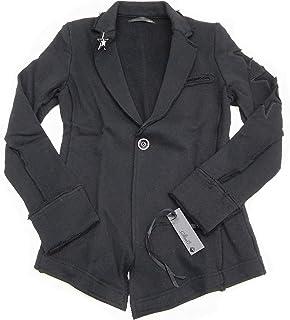 STUD MUFFIN 【スタッドマフィン】 711-09226 スターバッチ付きテーラードジャケット サイズ:F(総丈69cm/肩幅35cm/身幅41cm/袖丈58cm) カラー:ブラック