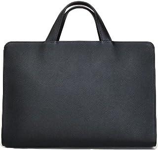 TRION(トライオン)ビジネスバッグ レザー ブラック A4対応