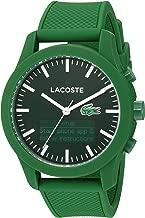 Lacoste Men's 2010883 LACOSTE 12.12 - TECH Analog-Digital Display Quartz Green Watch