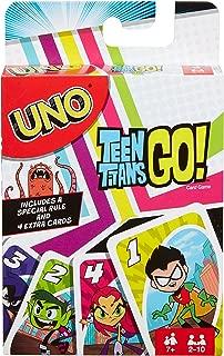 Mattel Games UNO Teen Titans Card Game