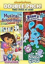 Dora & Blue's Clues Double Feature: Dora Musical School Days & Blue's Big Musical Movie