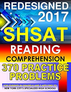 SHSAT Reading Comprehension – 370 Practice Problems