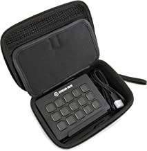 Casematix Travel Case Compatible with Elgato Stream Deck and Adjustable Stand , Game Capture Hd60 , Chat Link and Video Game Accessories