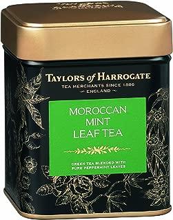 Taylors of Harrogate Moroccan Mint Green Tea Loose Leaf, 4.41 Ounce Tin