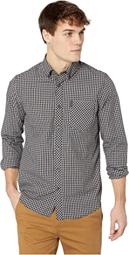 b5821946a1 Ben sherman long sleeve textured buffalo shirt | Shipped Free at Zappos