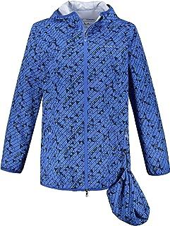 Ulla Popken 723632 - Chubasquero para mujer (reciclado, transpirable, tamaño grande)