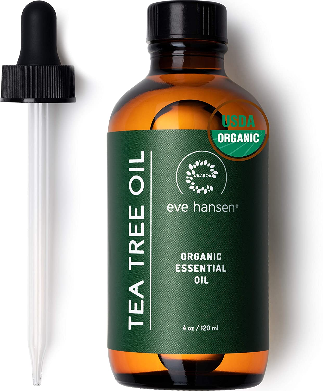 Eve Hansen Organic Tea Tree Oil (4oz) | Highest Quality Melaleuc