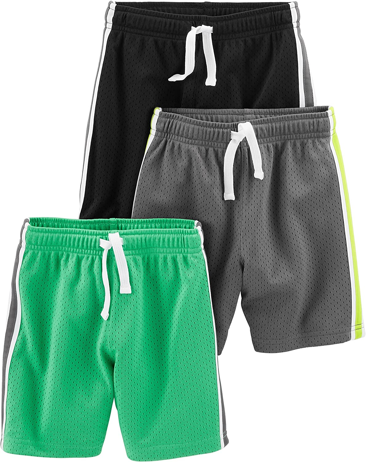 Simple Joys by Carter's Boys' Toddler 3-Pack Mesh Shorts : Clothing, Shoes & Jewelry