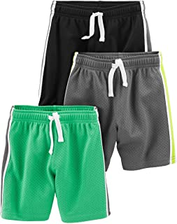 Toddler Boys' 3-Pack Mesh Shorts