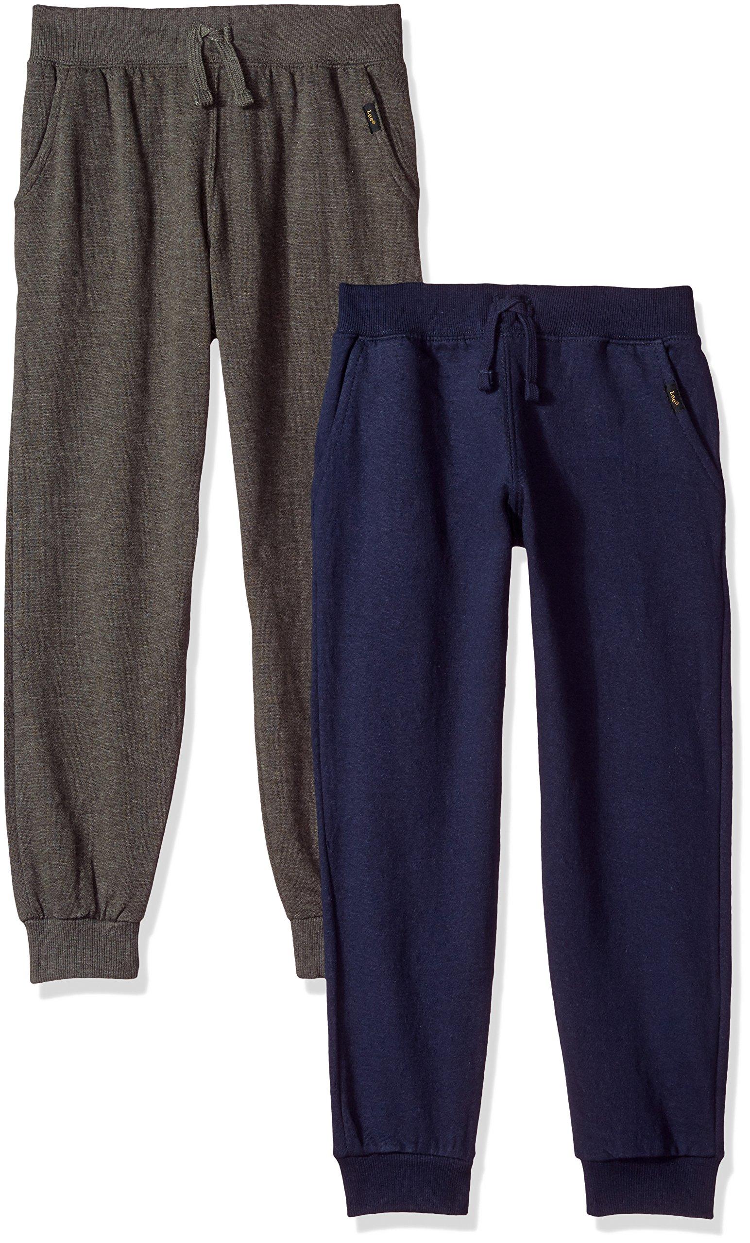 Lee 男童 2 件装羊毛慢跑裤(幼儿和小男孩尺码)