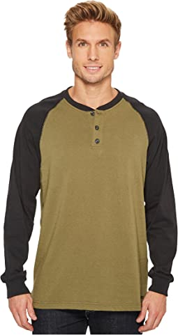 Cotton Core Long Sleeve Henley