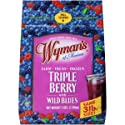 Wyman's, Triple Berry Blend Fruit in Stand Up Pouch, 48 Ounce (Frozen)