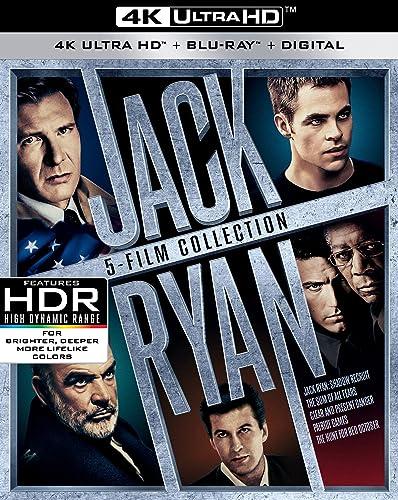 Jack Ryan 5-Film Collection UHD 4K