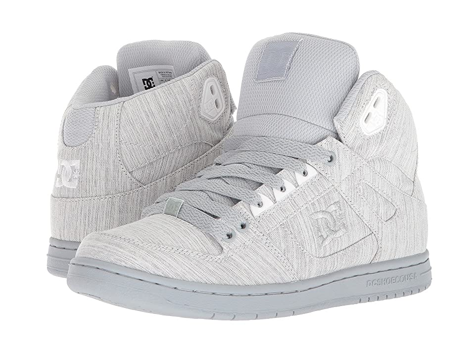 DC Pure High-Top TX SE (Grey/Grey/Grey) Women