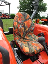 Durafit Seat Covers, KU20 Kubota Seat Covers for Tractor MX4800,MX5000,MX5200,MX 5800, M5660 SUH/SUHD, Z221R Mower Zero Turn Mower.T2090/T2290 Ride on Mowers