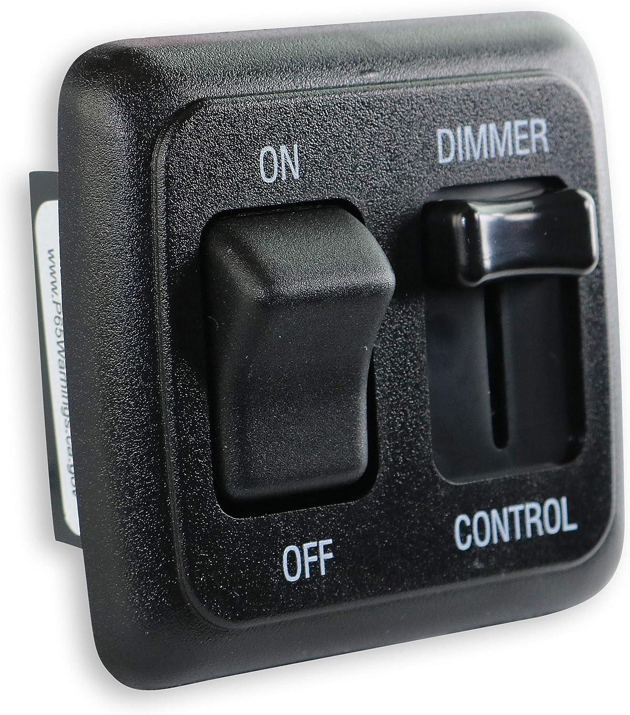 12 Volt DC Dimmer Switch for Cheap Au Incandescent RV Austin Mall - LED Halogen