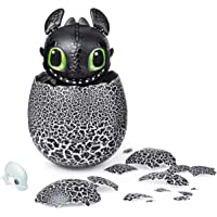 Dreamworks Dragons Hatching Toothless Interactive Baby Dragon with Sounds for Kids Aged 5 & Up