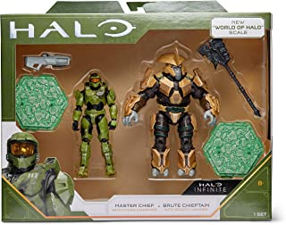 """Halo 4"""" """"World of Halo"""" Two Figure Pack – Master Chief vs. Brute Chieftain"""