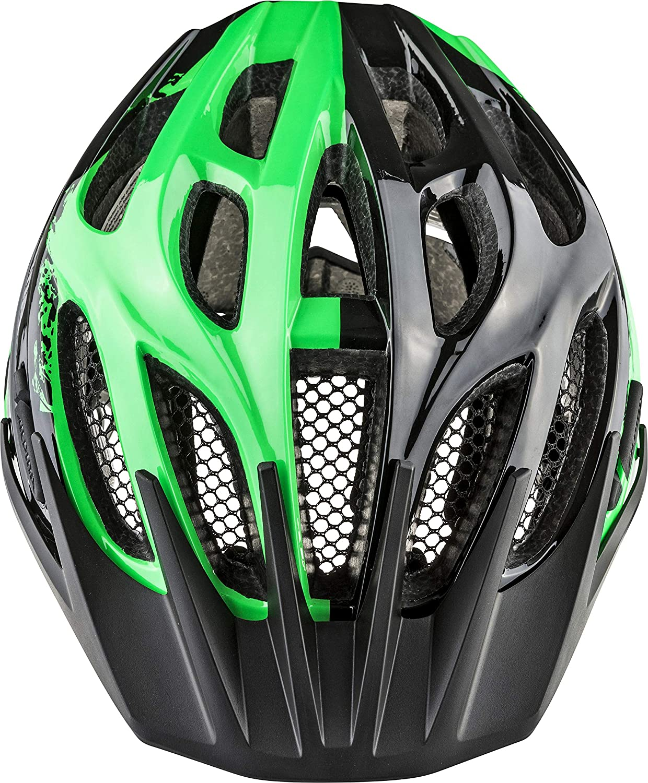 ALPINA FB JR. 2.0 Fahrradhelm, Kinder, 50-55 black-green