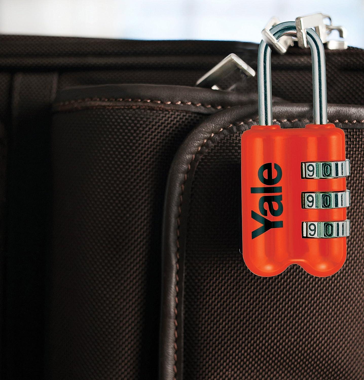 Yale Locks Candado de combinaci/ón Rojo YP2//23//128//1//R