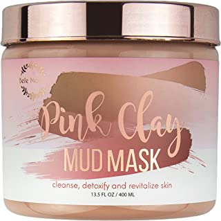 bella maison pink clay mask