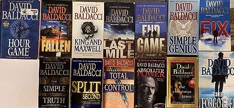 David Baldacci Collection 13 Novel Set