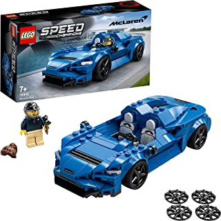 LEGO 76902 Speed Champions McLaren Elva Racing Car Toy for Kids 7+ Years Old, Sports Race Model Building Set, New 2021